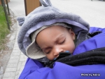 Baby C fast asleep